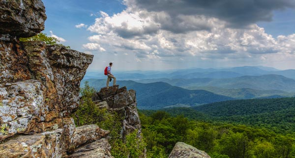 Views of Shenandoah National Park