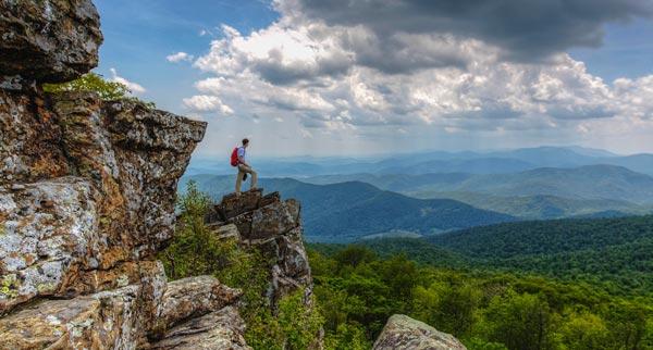 Views of Shenandoah National Park